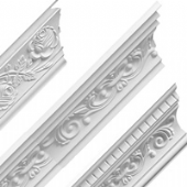 Floral Patterned Cornices